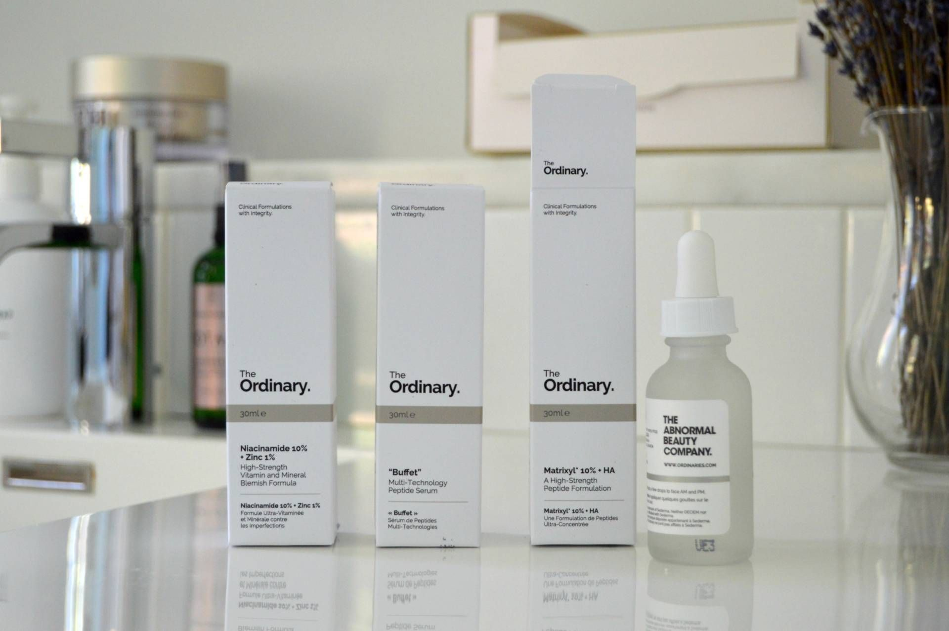 The Ordinary Serum Range it's everything but The