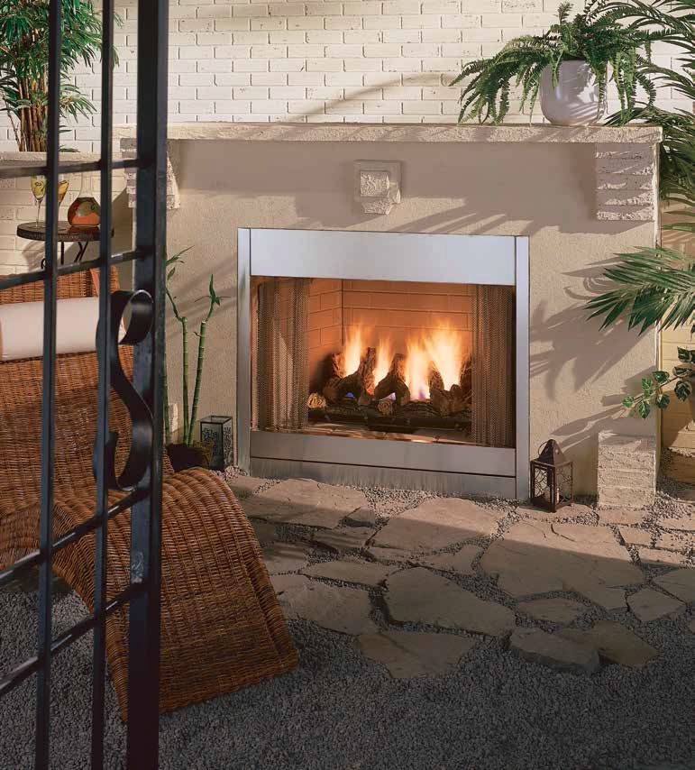Majestic Al Fresco Gas Outdoor Fireplace Ourfireplace Outdoor