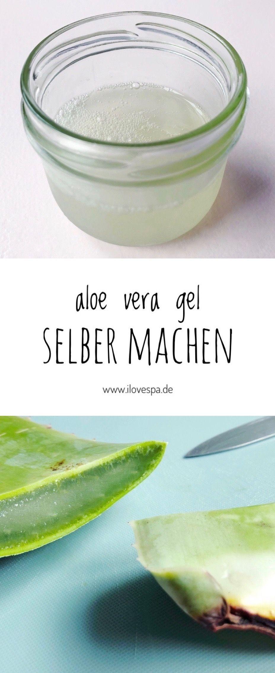 Aloe Vera Creme Selber Herstellen : erfrischendes aloe gel herstellen aloe vera gel selber ~ Watch28wear.com Haus und Dekorationen