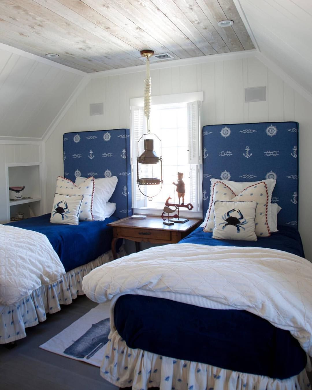 Salty Dog Beach Style Bedroom