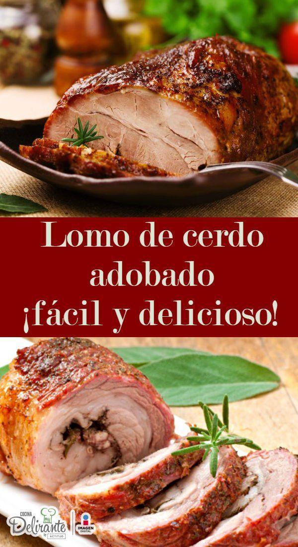 Recetas Comidas Con Bistec De Puerco Aprende A Preparar El Lomo De Cerdo Adobado Mas Delicioso Receta