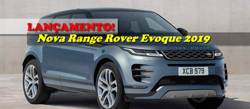 Lançamento Nova Range Rover Evoque 2019 Range rover evoque