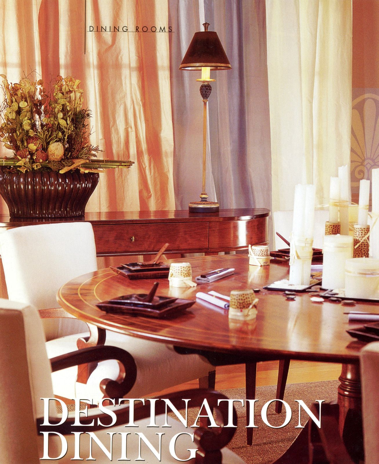 traditional dining room in melon and lavender table for one rh pinterest com