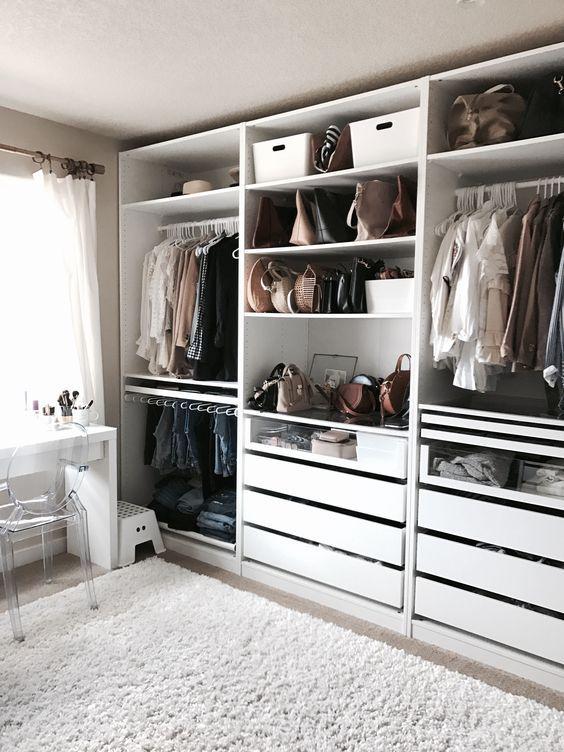 closet organization jeans ideas szafy apartment bedroom decor rh pinterest com