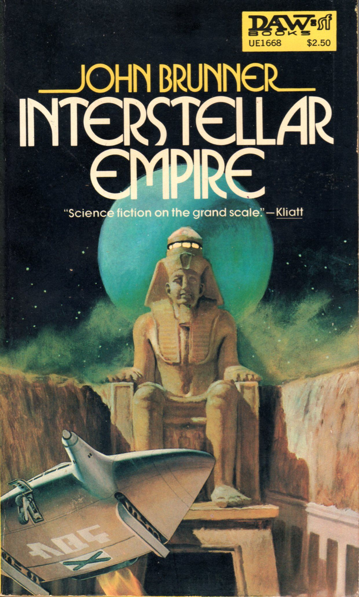 Interstellar Empire - John Brunner Cover Segrelles