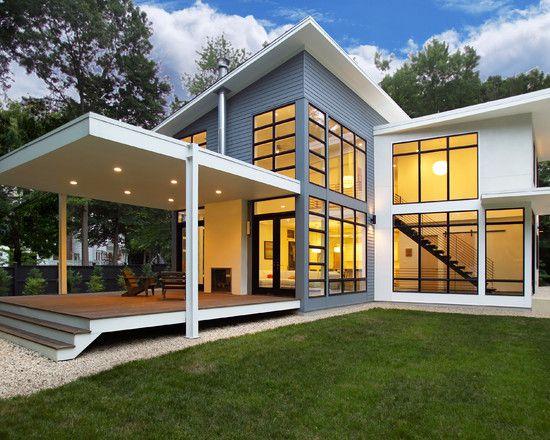 beautiful riverside residence exterior green lawn transparent rh pinterest com