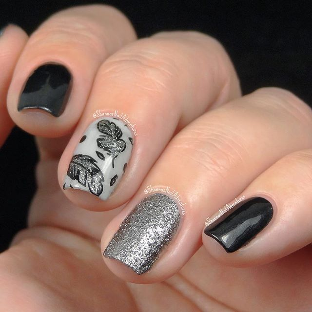 shannasnailadventures - Products used: Loreal Power Potion, Caution ...