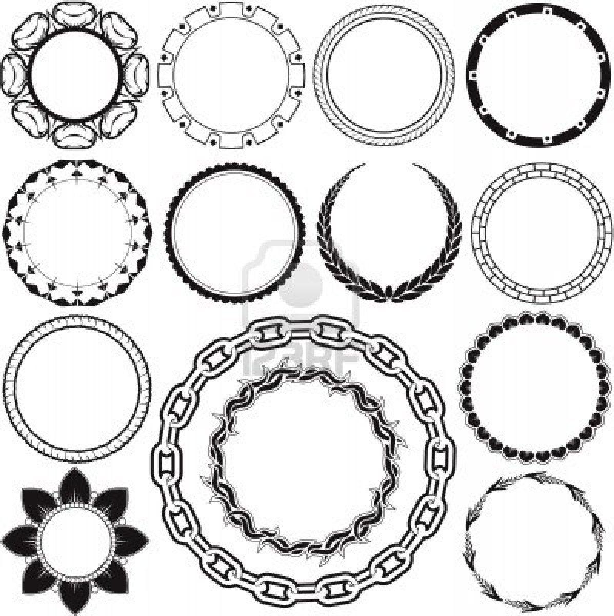 Nice Circle Tattoo Designs