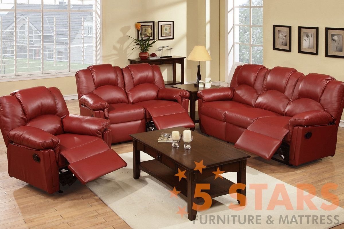 3 pcs recliner reclining leather sofas pinterest recliner rh pinterest com