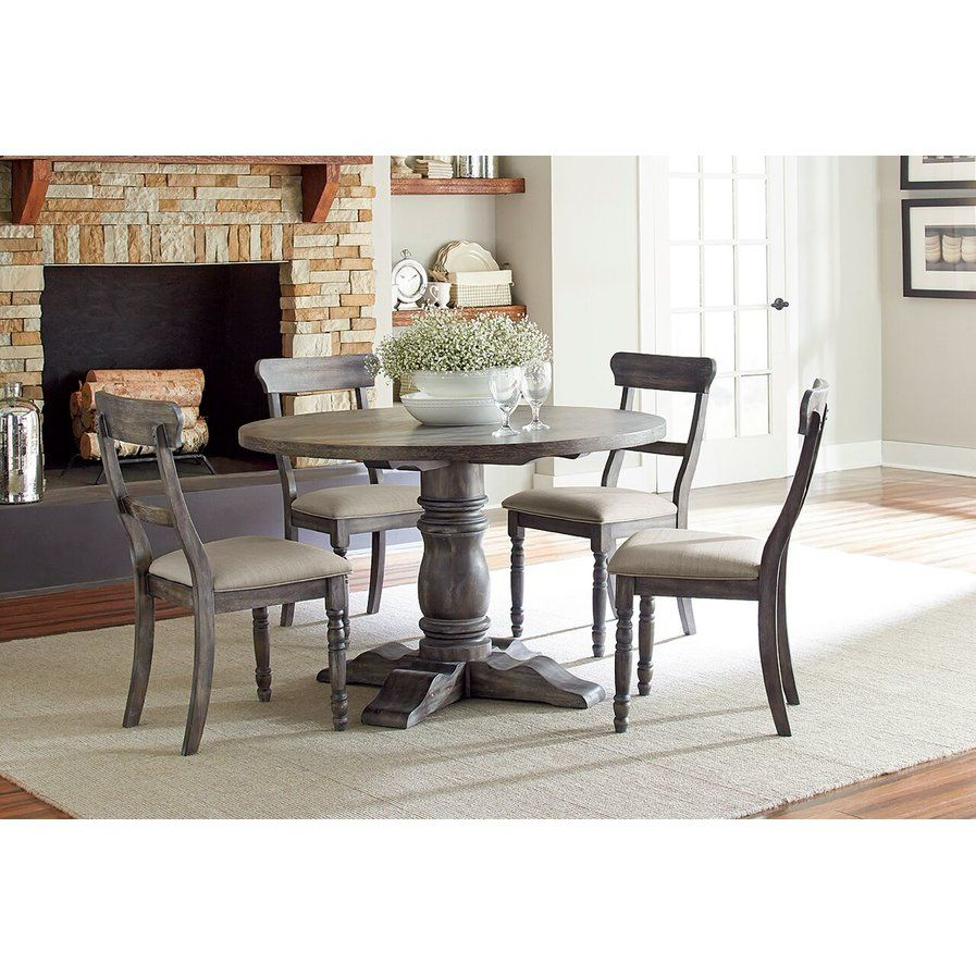 Snellville 5 Piece Wood Dining Set Snellville