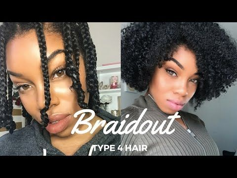 Pin By Jasmine King On Beauty Braid Out Natural Hair Hair Videos Afro Hair Types