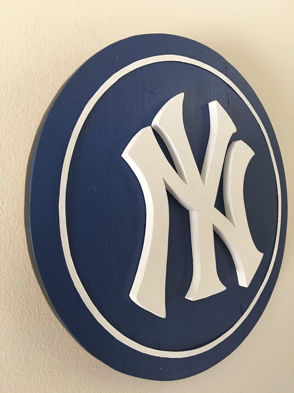3d Ny Yankees Wooden Sign Etsy Yankees Wooden Signs Ny Yankees