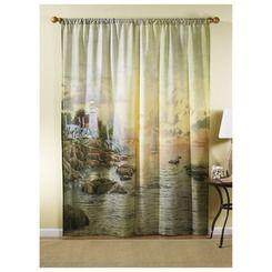 Thomas Kinkade Sea Of Tranquility C Art Curtains Shop Stoneberry