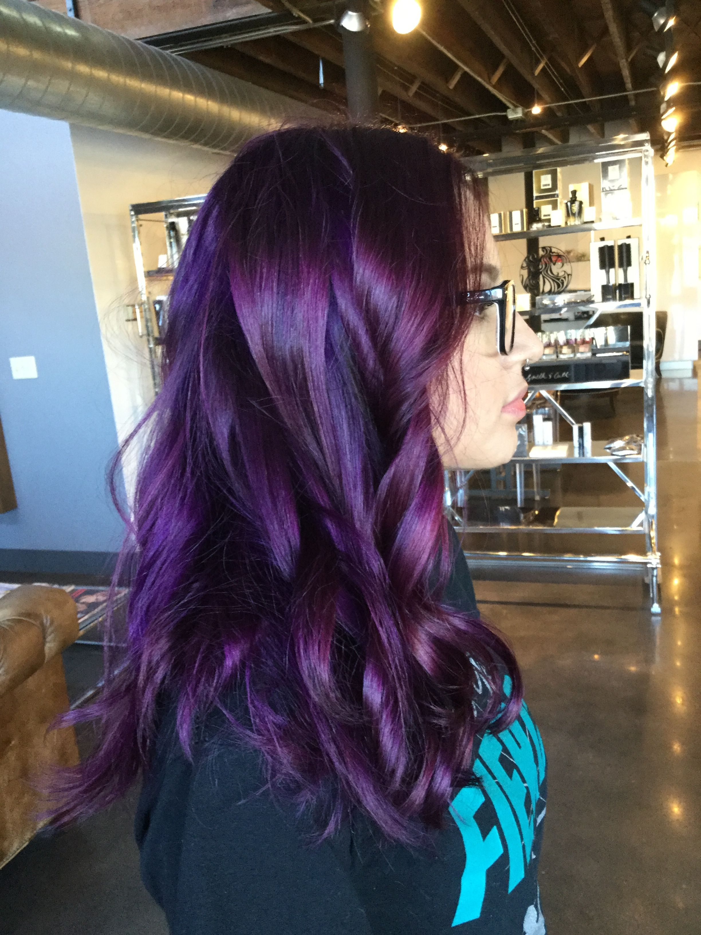 Bright Purple Hair Color Purple Hair Hair Color Purple Bright Purple Hair Color Bright Purple Hair