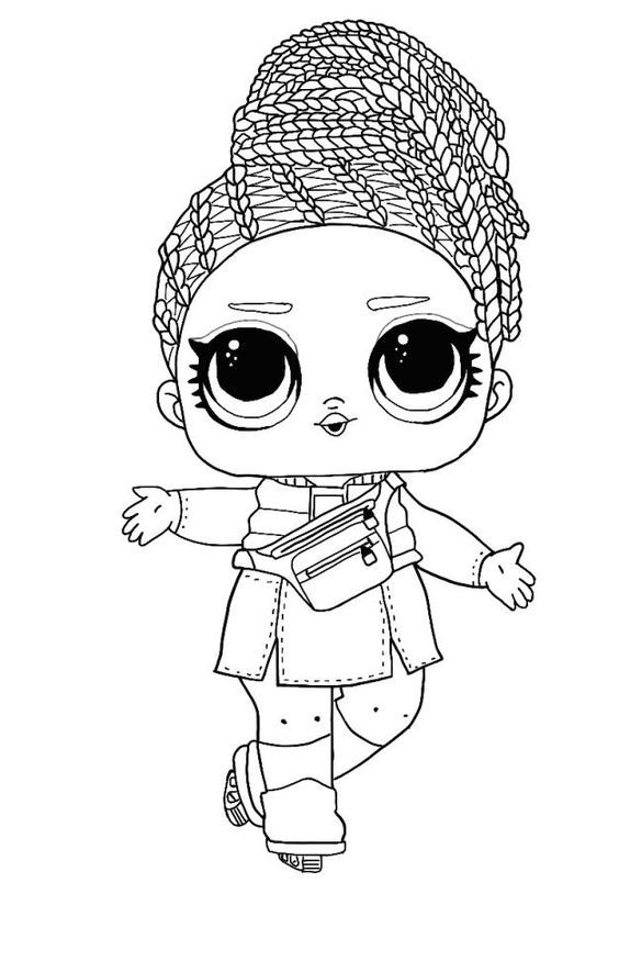 lol surprise winter disco coloring pages  42 free