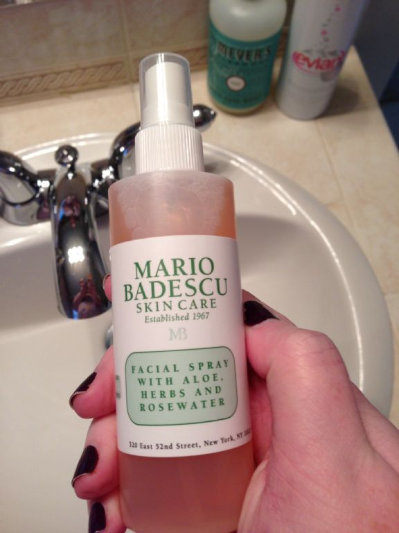 Hydrating Toner Mario Badescu Facial Spray With Aloe Herbs