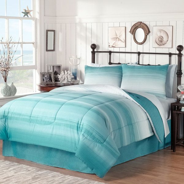 ocean complete bed ensemble bed bath beyond guest bedroom rh pinterest com