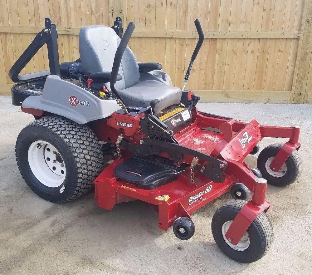 2015 Exmark 60 Lazer Z Commercial Hydro Zero Turn Lawn Mower Kohler 24 Engine Exmark Zero Turn Lawn Mowers Lawn Mower Mower