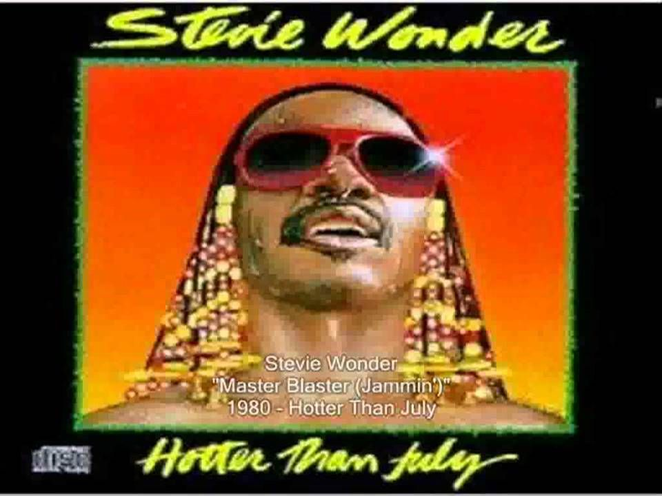 Stevie Wonder Master Blaster Jammin with lyrics You