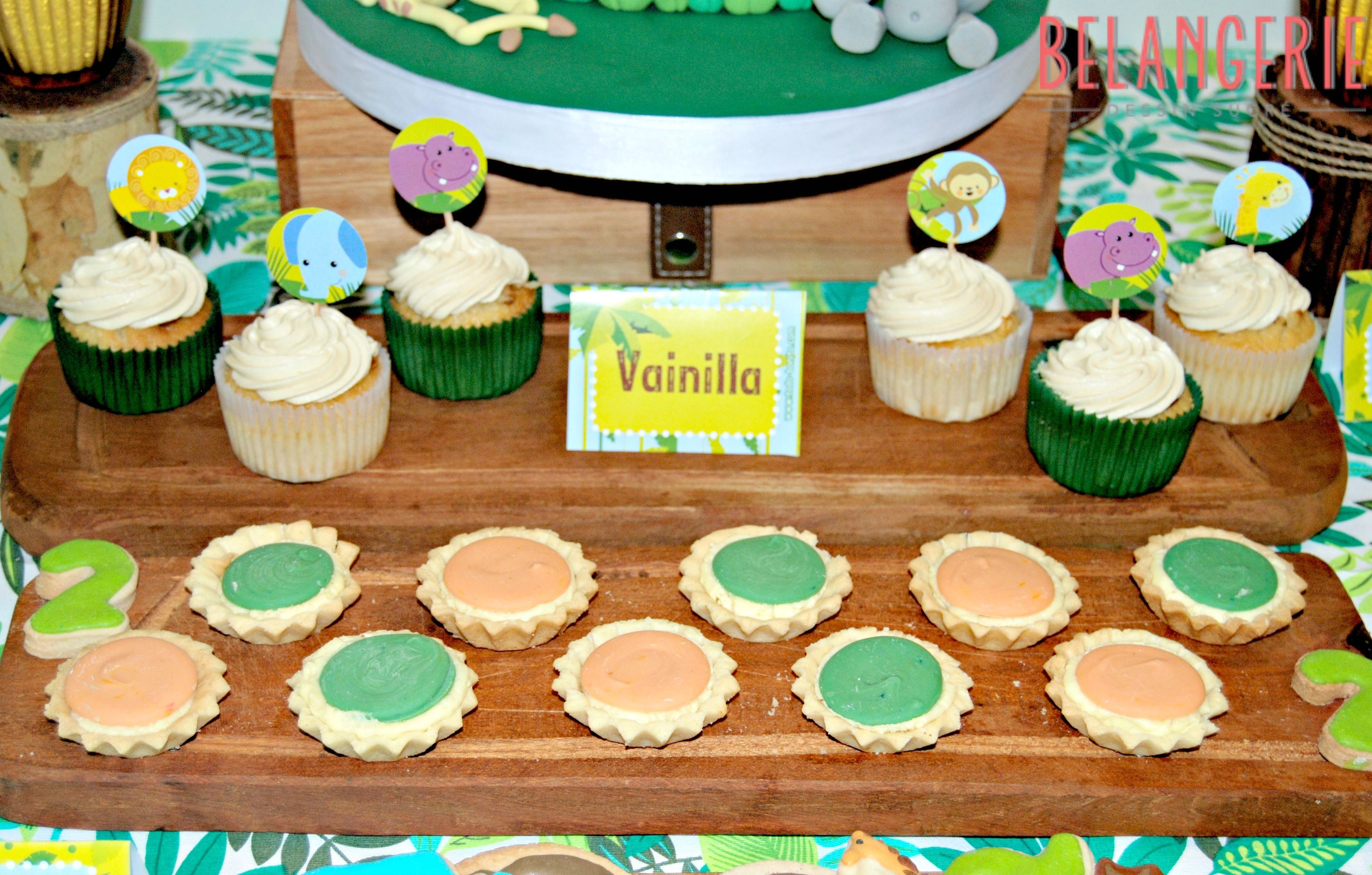 Cupcakes and Mini Tarts
