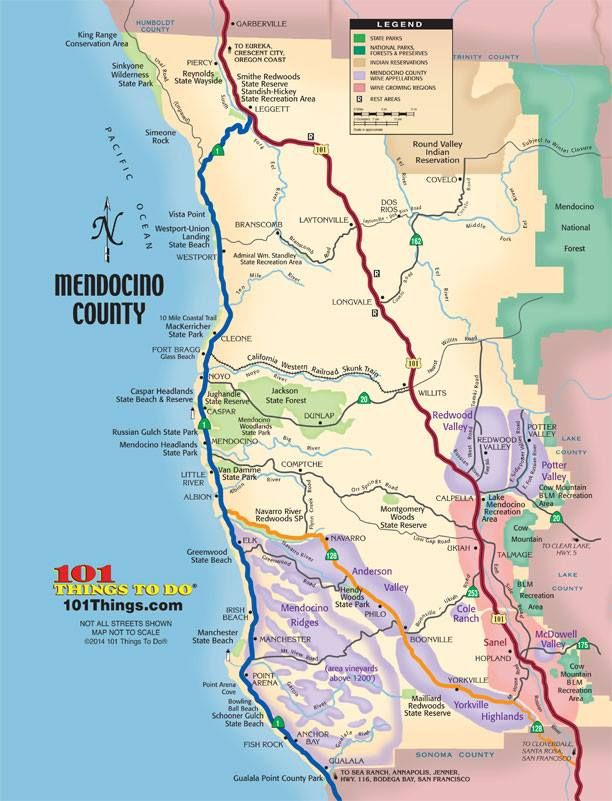 Mendocino County Map Mendocino County Map | Memories of Mendocino | Mendocino coast  Mendocino County Map