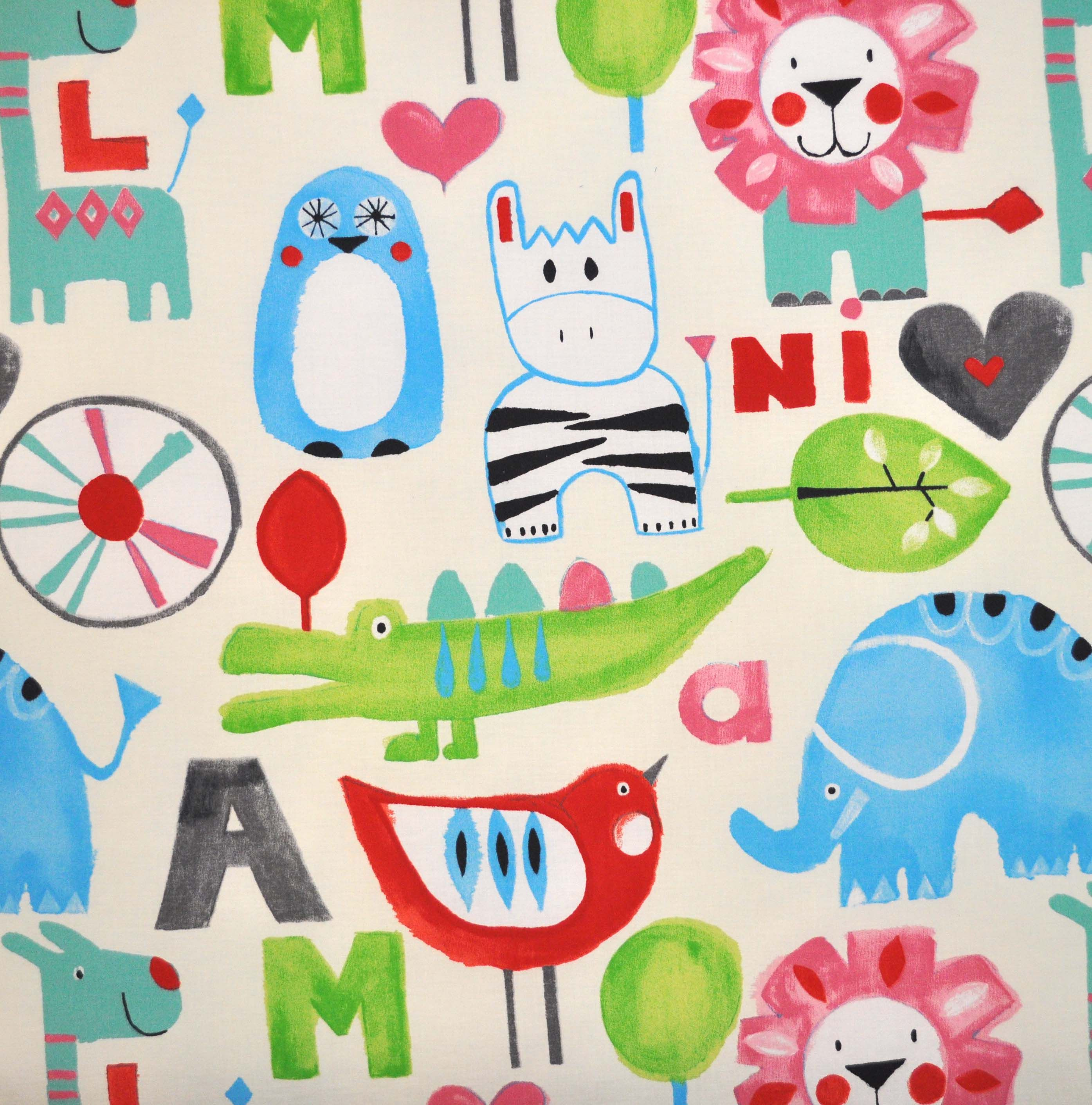 Image detail for escape vintage per metre from for Childrens curtain fabric by the metre