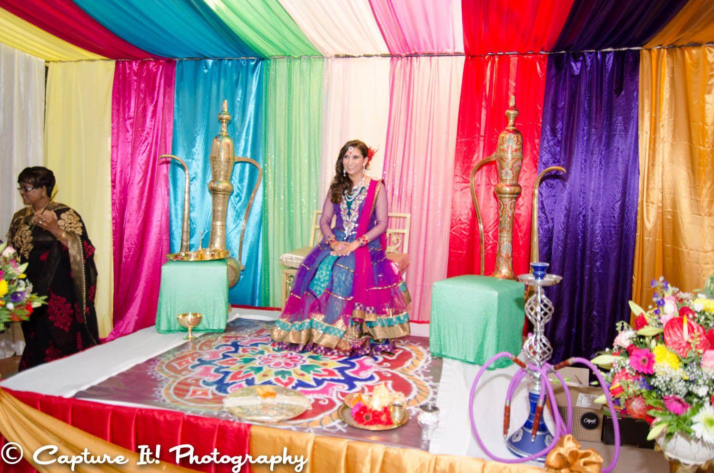 Mendhi Night Decor Pre-Wedding