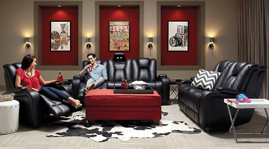 leather couch living room set living room set reading room decor rh in pinterest com