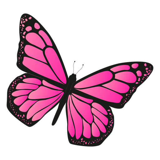 Detailed Pink Butterfly Vector Ad Sponsored Affiliate Pink Butterfly Vector Detailed In 2020 Butterflies Vector Pink Butterfly Butterfly
