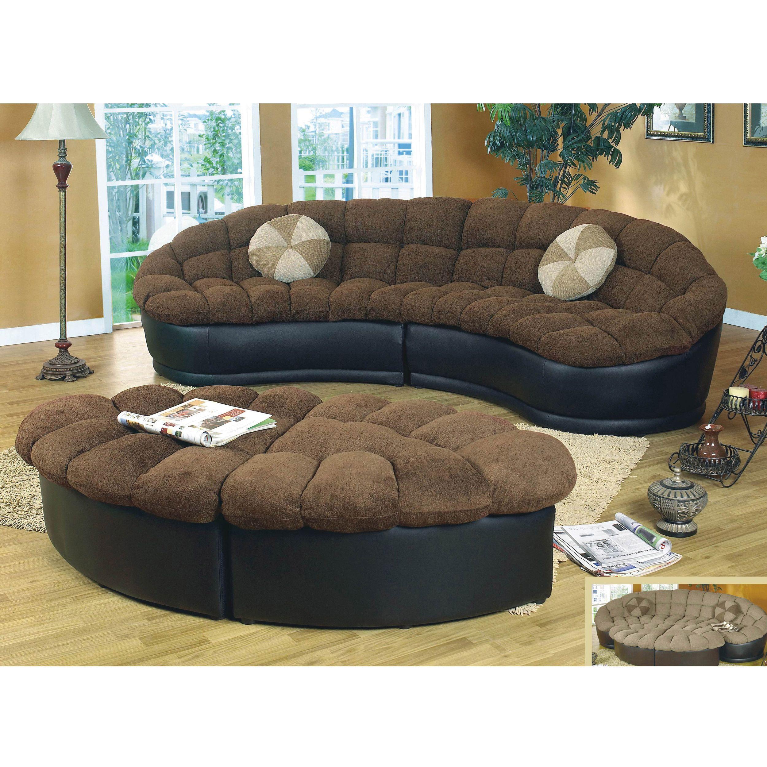 Alfa Importers Papasan Two Piece Sectional Sofa Beige Brown # Muebles Seccionales En Miami