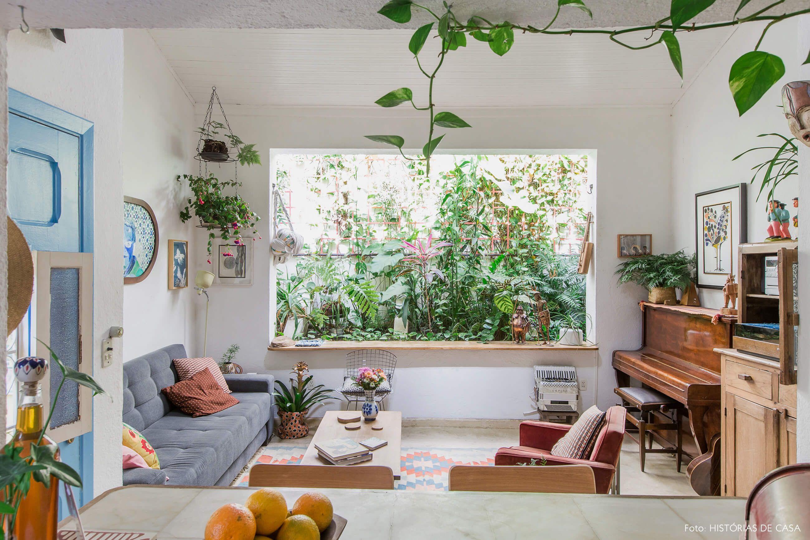 Sala de estar de casa de vila