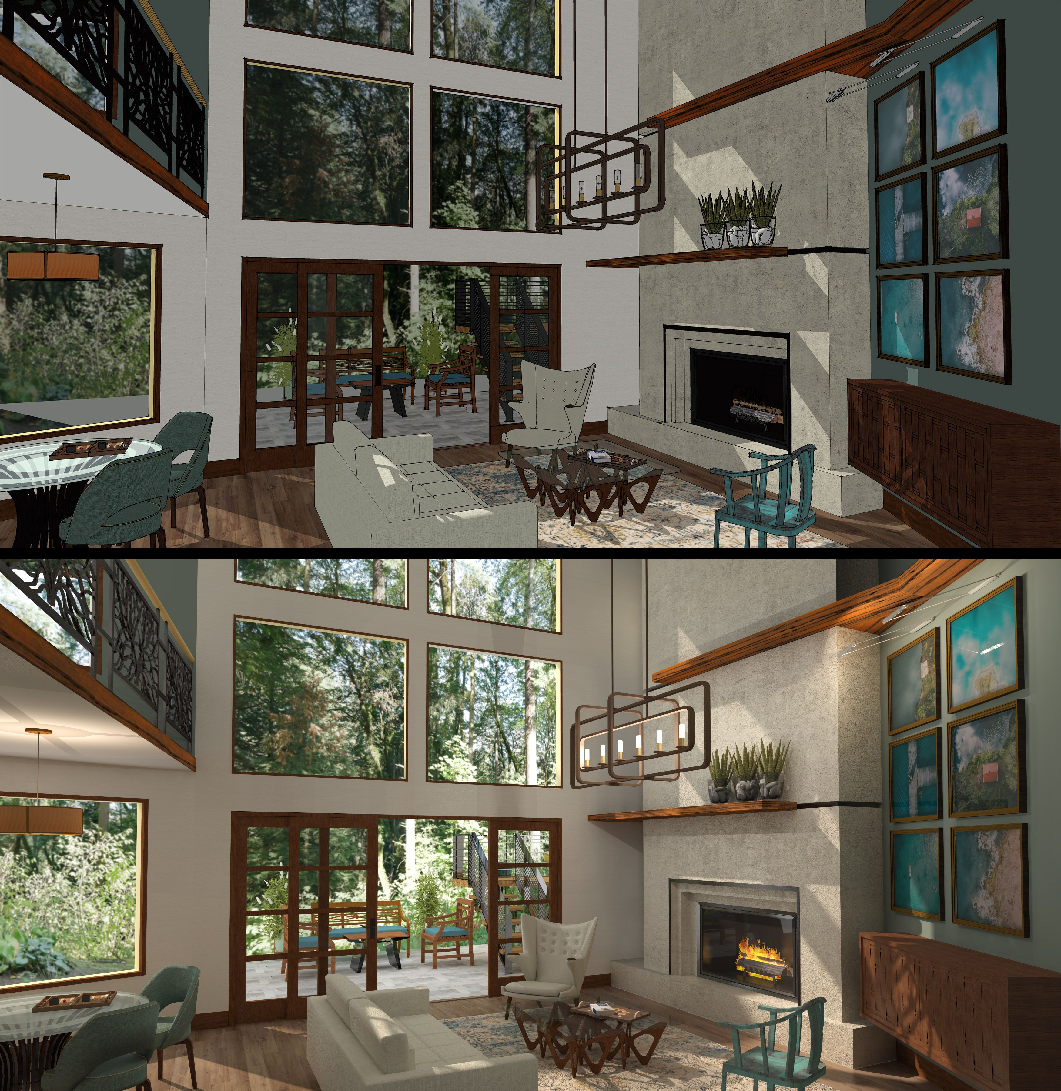 Sketchup Home Design: Architecture, House Styles