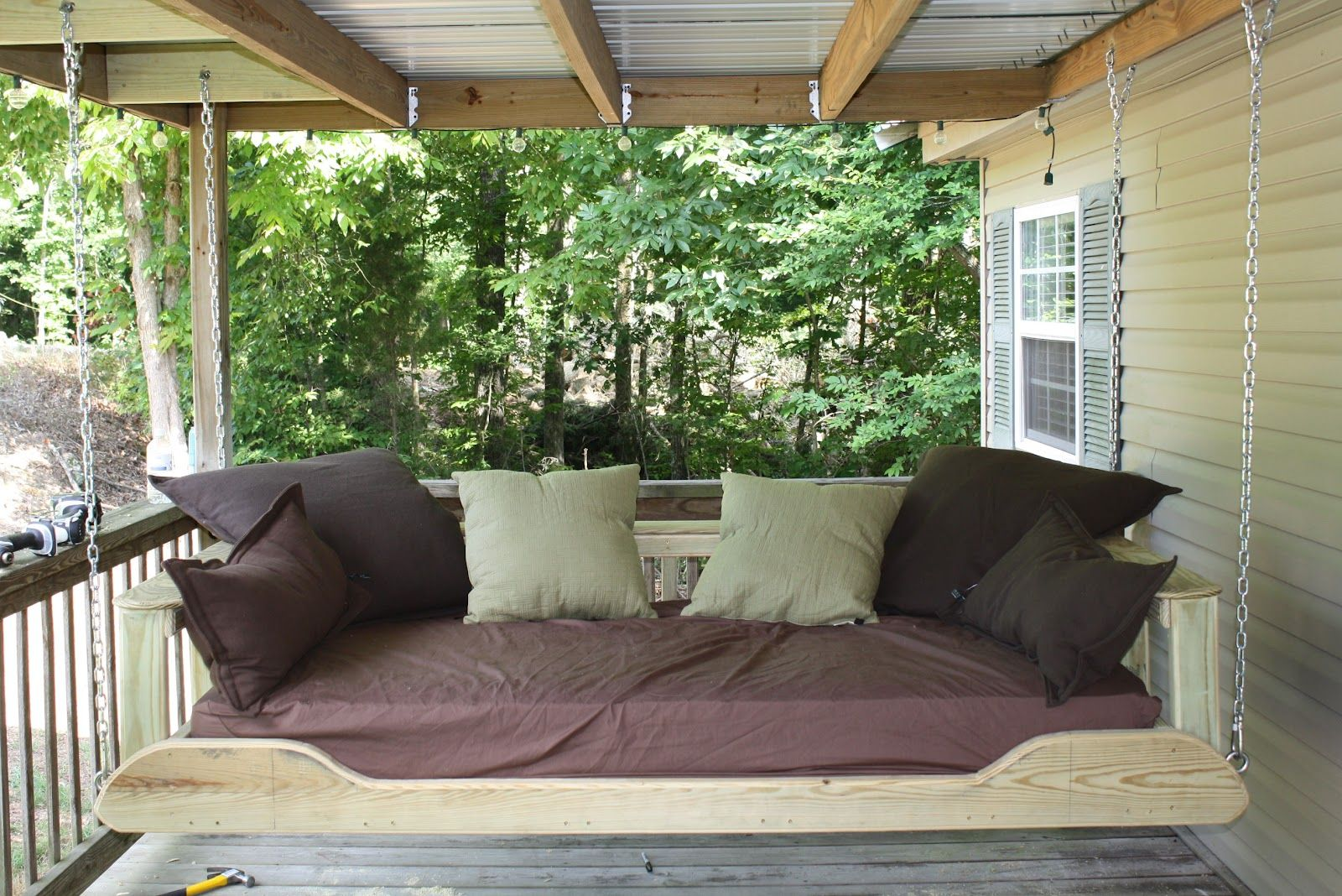 Outdoor Swing Bed Plans Outdoor Swing Bed