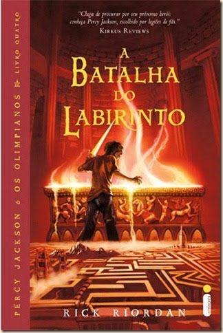 A Batalha Do Labirinto Percy Jackson Os Olimpianos Vol 4