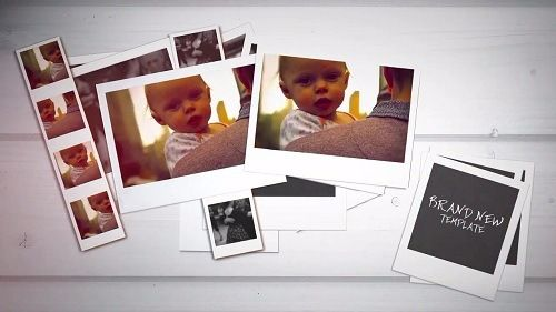 Polaroid Slideshow 51799 After Effects Templates Free Download - polaroid template