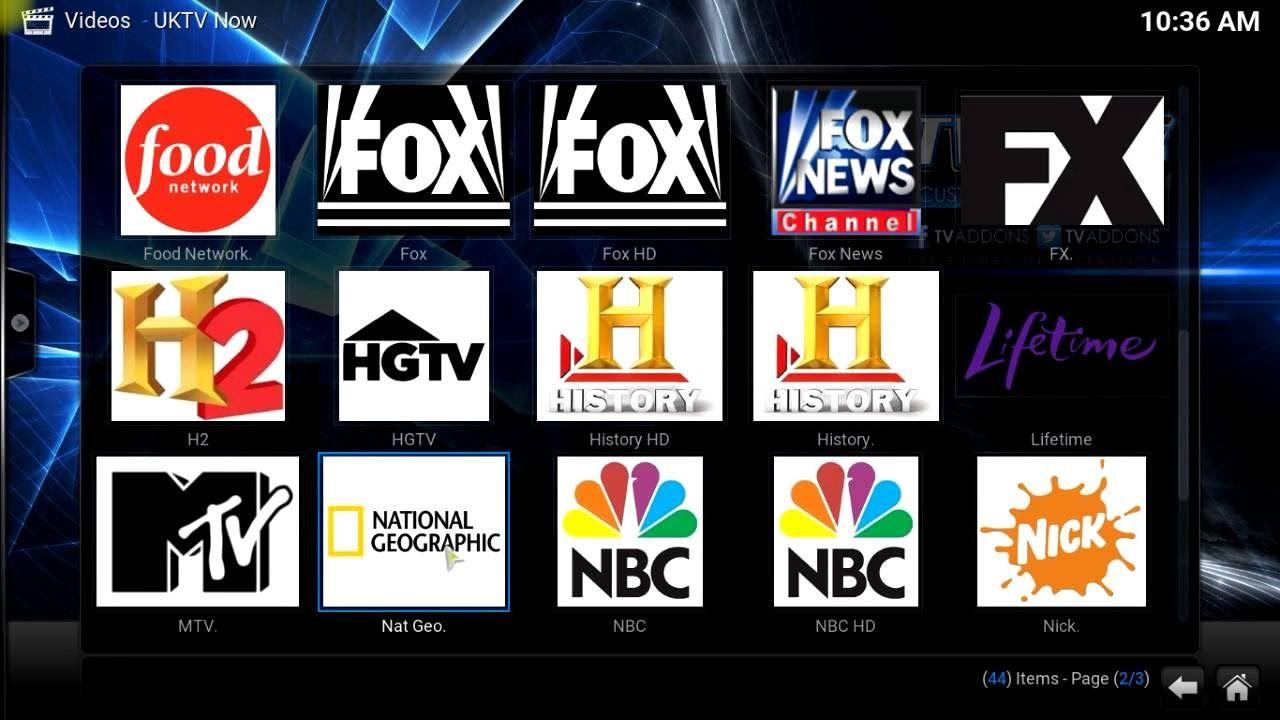Install UKTV NOW - IPTV for Kodi/XBMC - Live Sports, TV, Movies by