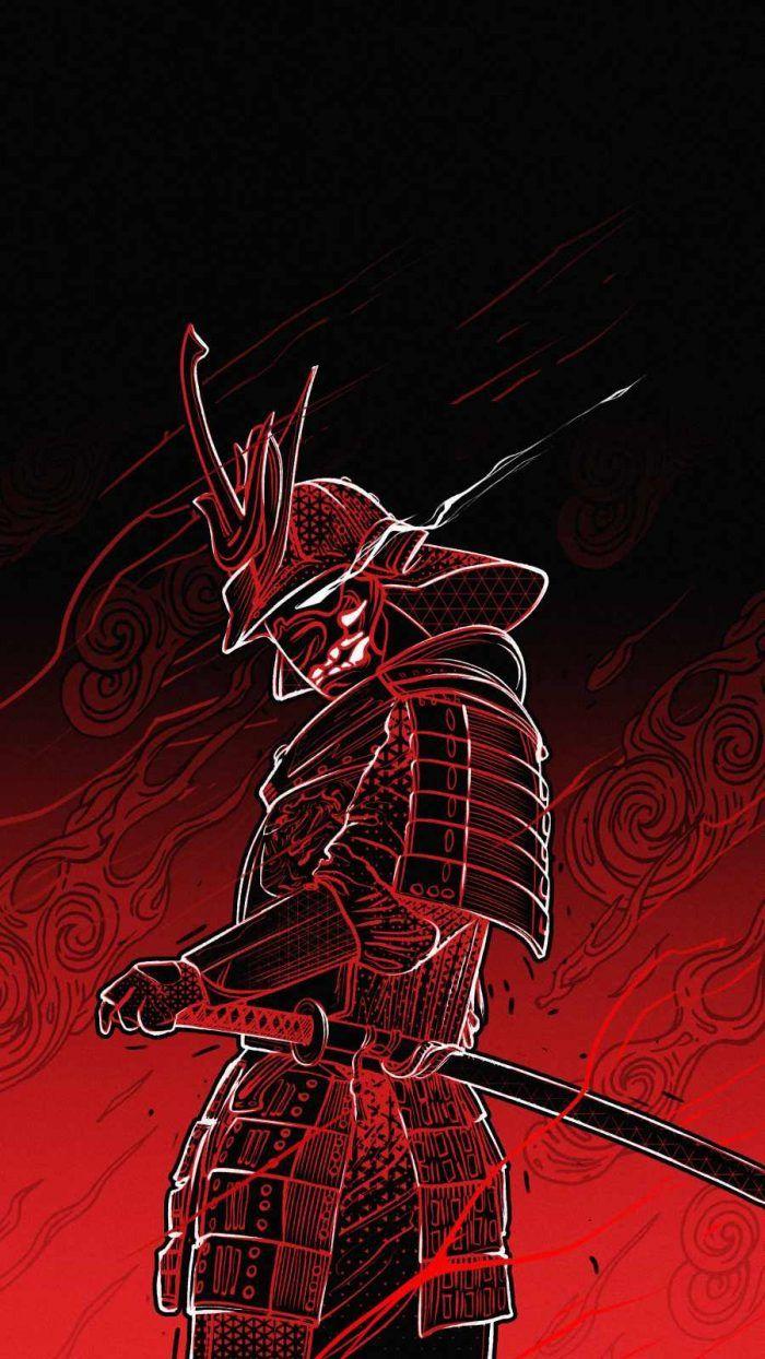Samurai Art iPhone Wallpaper - iPhone Wallpapers