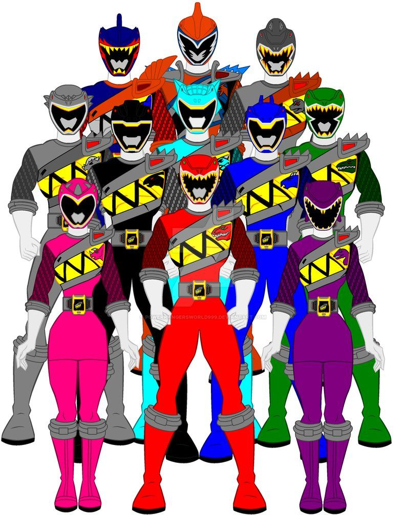 21 power rangers dino charge by powerrangersworld999 power rangers power rangers dino - Sonic power rangers dino charge ...