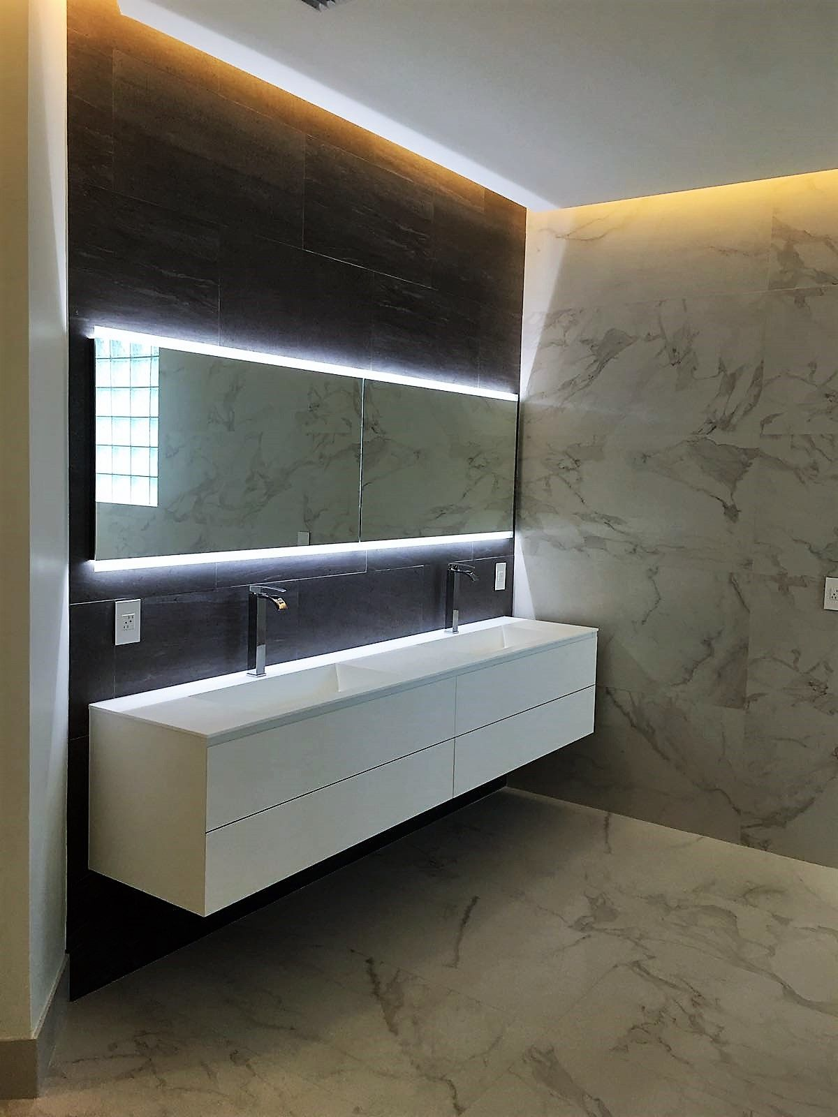 "Tile Decor And More Mont Blanc Ambient 24""x48"" And 36""x36"" Porcelain Tile Available"