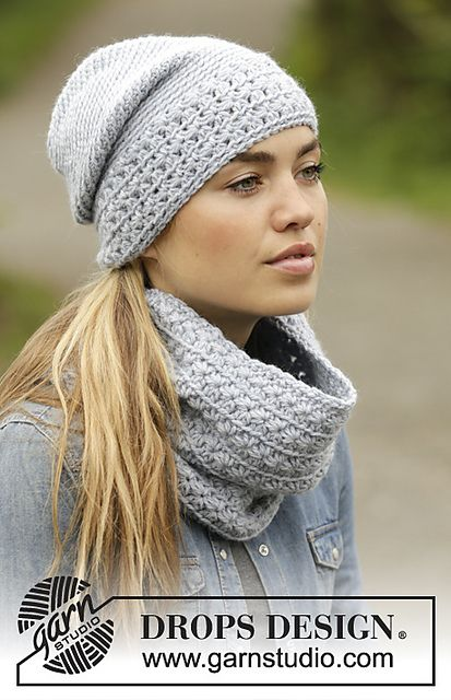 Ravelry: 171-45 Queen of the Chill Neck Warmer pattern by DROPS ...