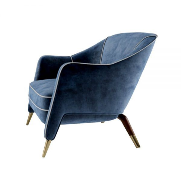 Best Billy Blue Armchair Accent Chairs Chair 400 x 300