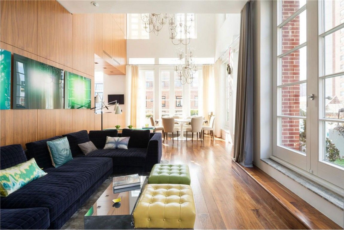 A penthouse with a backyard in tribeca 4