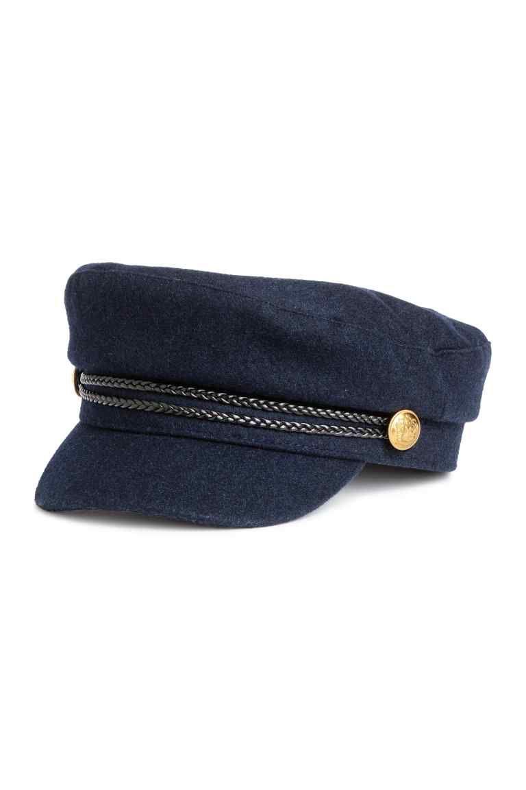 Gorra de marinero - Azul oscuro - MUJER  5856cab4d6b