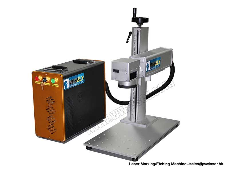 Portable Fiber Laser Marking Machine For Metals 10w 20w 30w 50w Laser Engraving Machine Laser Marking Ashland Leather