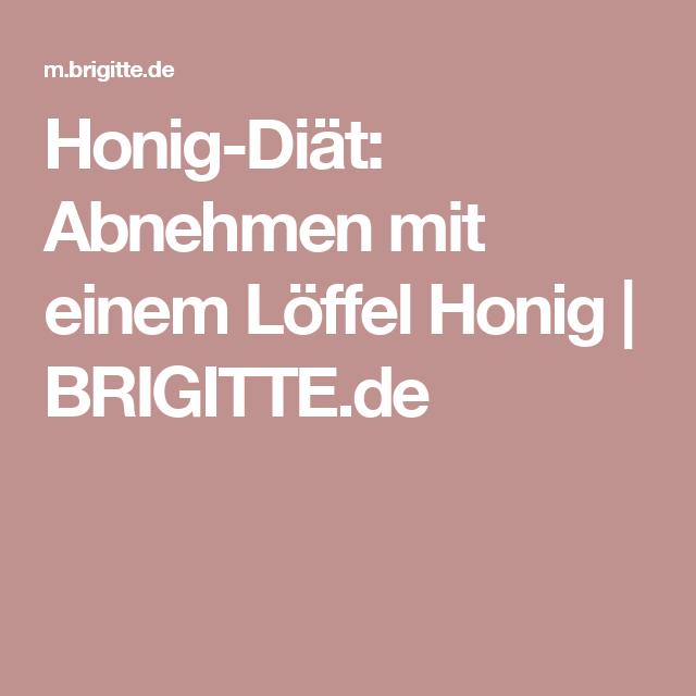 Honig-Diät: Abnehmen mit einem Löffel Honig | BRIGITTE.de