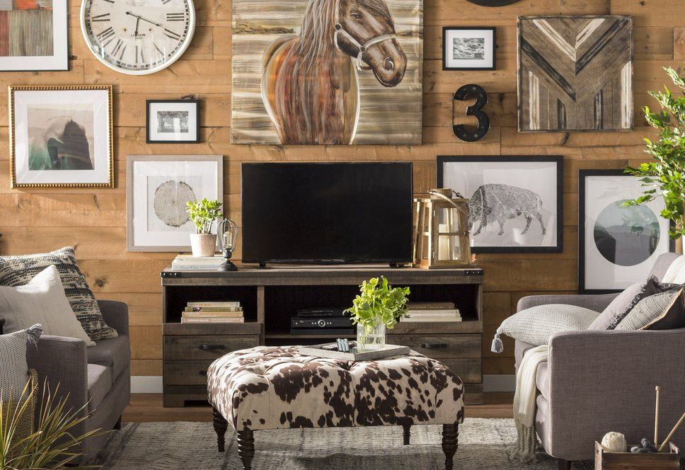 get inspired by rustic living room design photo by wayfair wayfair rh pinterest com