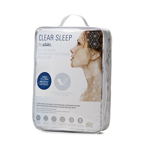 Cotton Terry Waterproof Mattress Protector