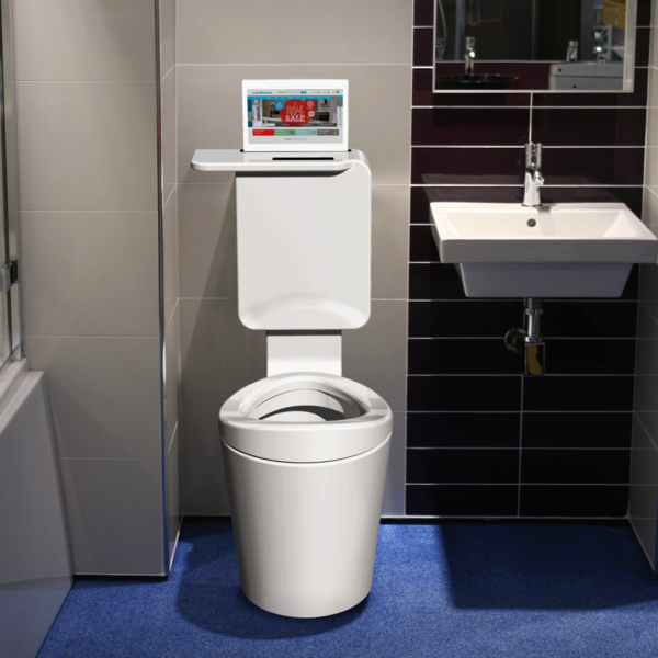 T-Eliot one-piece toilet system| bathstore. Front facing toilet for ...