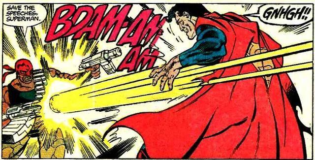 Bloodsport, Superman, Kryptonita, Luthor