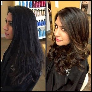 balayage, sombre, brunette, long hair, inspiration, Hair by Bonnie ...